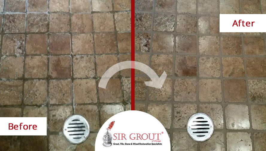 how to get rid of efflorescence on grout