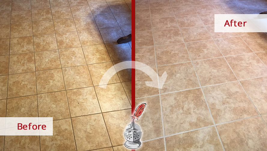 This Porcelain Tile Floor in Chicago Looks Better than New Thanks to ...